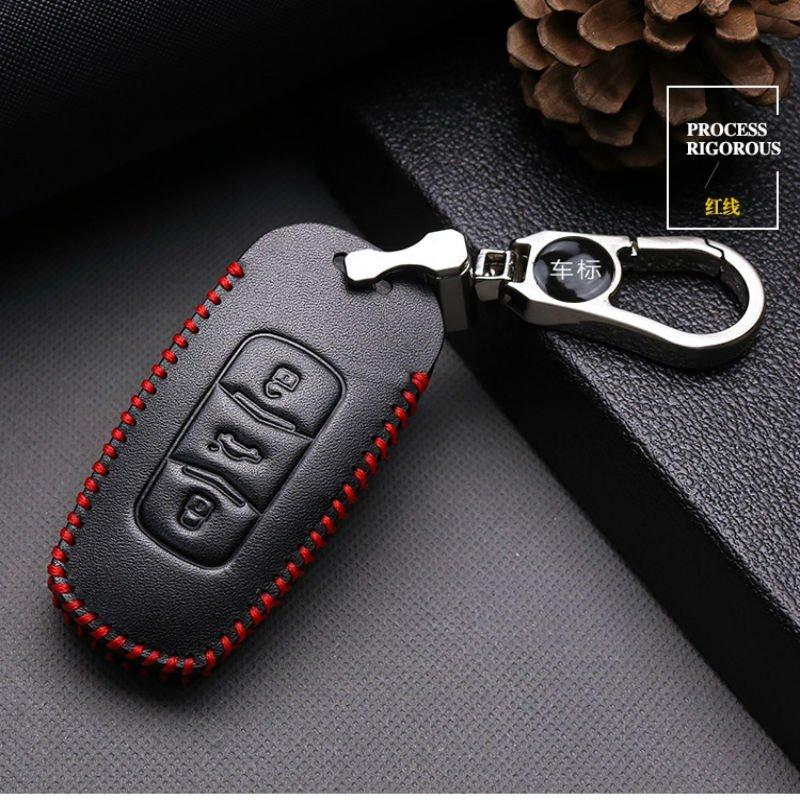 Chi Phong Thuận lợi 2017 khoản GS chìa khóa xe điều khiển từ xa EC7 túi da màu cà phê may túi bộ chì