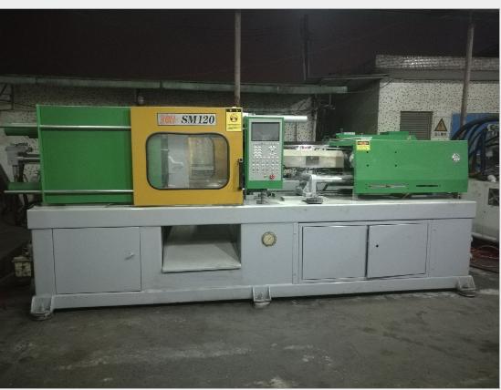 Đài Loan Chấn Hùng SM120 tấn nhựa, máy móc máy ép nhựa
