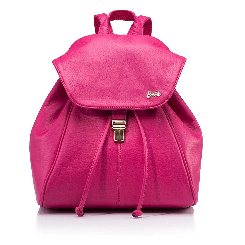 Barbie Barbie Vintage series thời trang đơn giản. Gói trend hút sinh viên mang túi xách màu đặc nếp