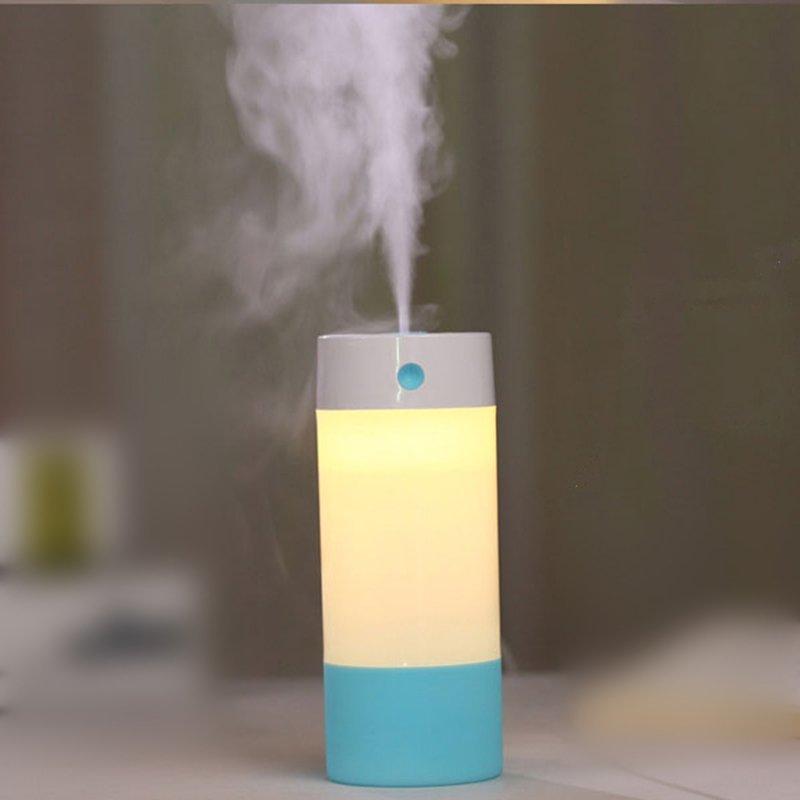 sáng tạo 1 mini máy tạo ẩm không khí đèn tự động tắt [ xoá bụi silica gel chống làm cháy túi trơn nh