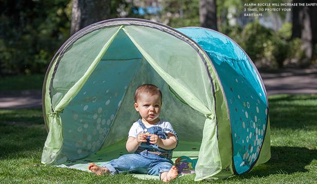 Babymoov lều du lịch chống tia cực tím, lều nhỏ trò chơi ngoài trời của nhà nhà lều nhỏ.