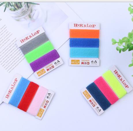 Khóa dán Velcro K550 Premium ảo thuật dán trói đưa lý ảo thuật gắn dây nylon versicolor đâm đưa hàng