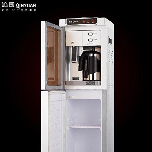 máy nước nóng và lạnh gia dụng dạng tháp bên ngoài... Tức là loại máy làm lạnh, nước nóng máy sưởi ấ