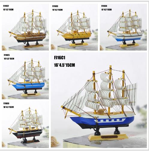 Khắc thủ công mỹ nghệ Đặc biệt các đồ trang trí nhà cửa. 16cm mô hình thuyền gỗ và hàng thủ công mỹ