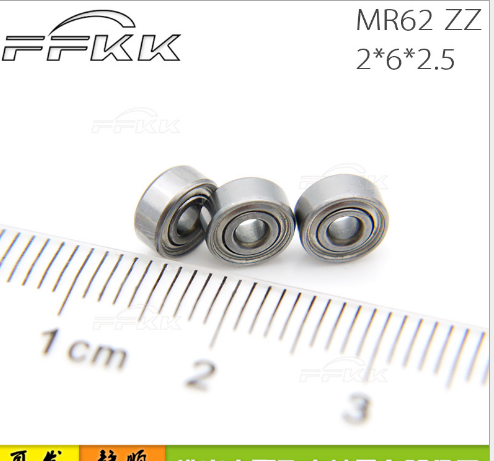 Cung cấp mô hình mang MR62zz 2x6x2.5 nhỏ mới cho các nhà sản xuất thẳng tay vòng 2 mang
