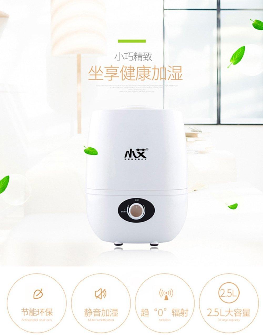 Em 's YZ-450 không khí máy tạo ẩm không khí gia dụng phòng điều hòa mini câm. Bạn thông minh sáng t