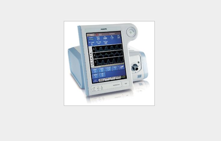 Y tế Philips Wei Kang máy thở V60 dùng trong y khoa.