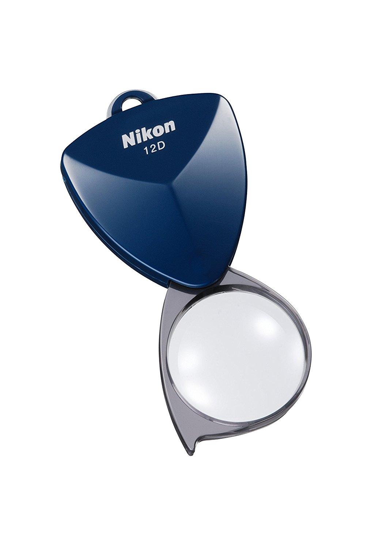 Nikon bàn tay kính lúp trong túi mới loại kính lúp 12 d midnight xanh
