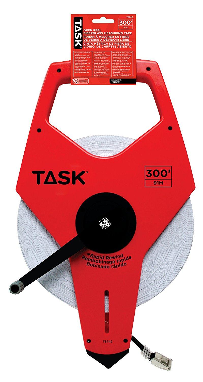 Nhiệm vụ của công cụ TS 300 feet mở loại thước cuộn sợi thủy tinh mang 3 742 x ổ răng