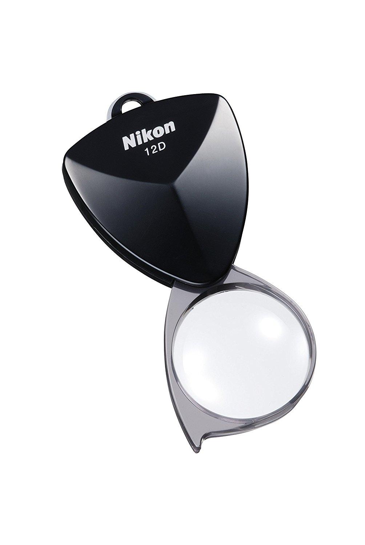 Nikon kính lúp trong túi mới bàn tay đen loại 12 d kính lúp