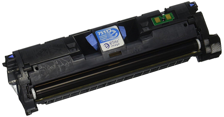 Hình ảnh tinh nhuệ eli75117 tương thích thay thế Hewlett - Packard q3960a (122A), Black.