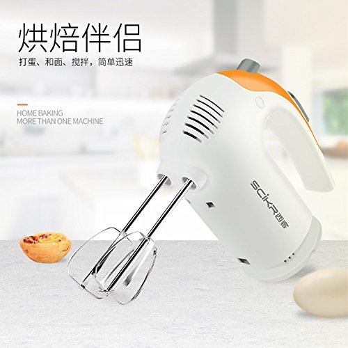 (SCiKR) đánh trứng này trộn điện gia dụng tự động làm bánh nhỏ máy đánh trứng khuấy cầm tay nhỏ bơ N