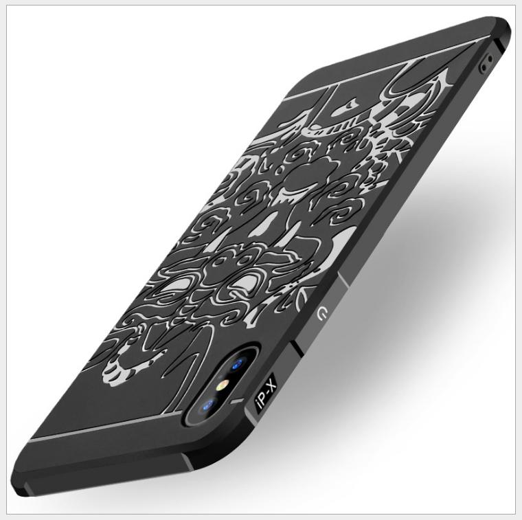 Case iPhone  Coco Sydney iPhoneX/8Plus chống rơi điện thoại vỏ táo 7/7P/10 phụ kiện kinh doanh thuần