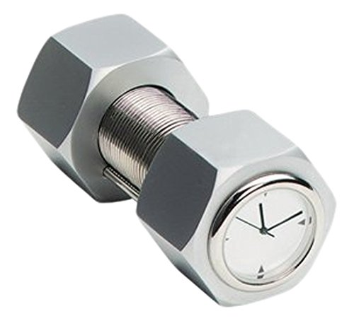 Stealstreet ss-kd-4141 hạt kim loại và bu lông và mô phỏng đồng hồ danh thiếp clip