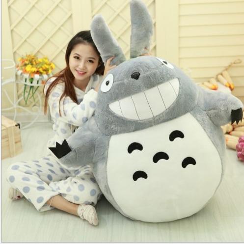 Đồ chơi hoạt hình Anime Miyazaki Totoro Totoro dakimakura đầy đồ chơi trẻ em búp bê đồ giá rẻ món qu