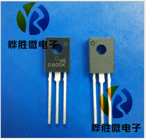 Sanyo 2SD600K SANYO/ Sanyo TO-126F chip lớn năng lượng Transistor sản phẩm trong nước