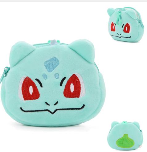 Túi xách cho trẻ em Phim hoạt hình anime Nhật Bản dễ thương trong túi con quỷ nhỏ ví tiền túi ví 0