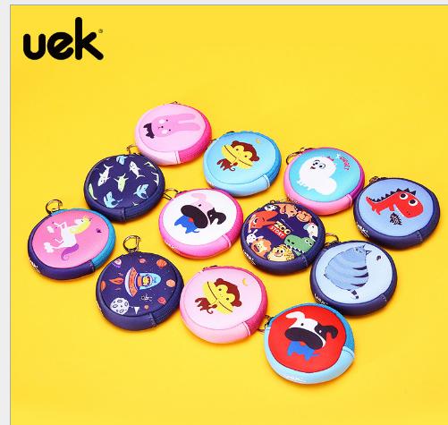 Túi xách cho trẻ em Uek chính thống, nữ đáng yêu động vật hoạt hình trẻ em nhỏ ví công chúa trẻ em b