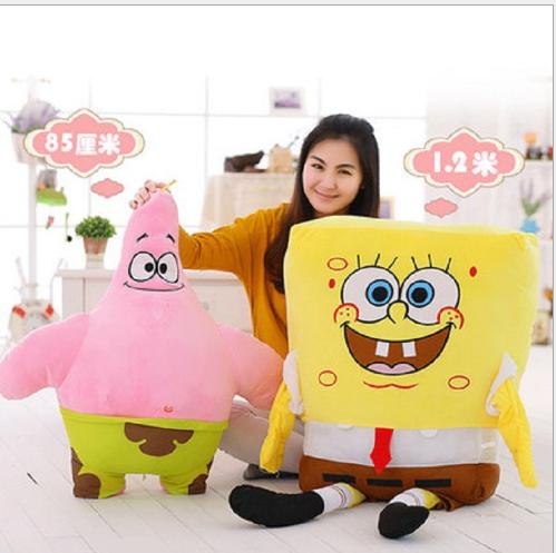 Đồ chơi hoạt hình Cung ứng cử SpongeBob SquarePants búp bê đồ chơi nhồi bông hoạt hình anime nhồi bô