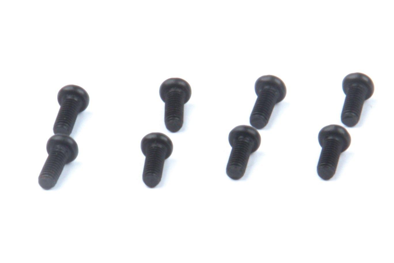 LRP Electronic 133081 – M4 x 12 mm trên cây thập tự mở miệng, B.H. Bolt, 8 mảnh