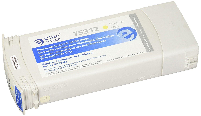 ELITE eli75312 ảnh giả dạng hộp DYE thay thế có thể áp dụng cho HP, màu vàng.