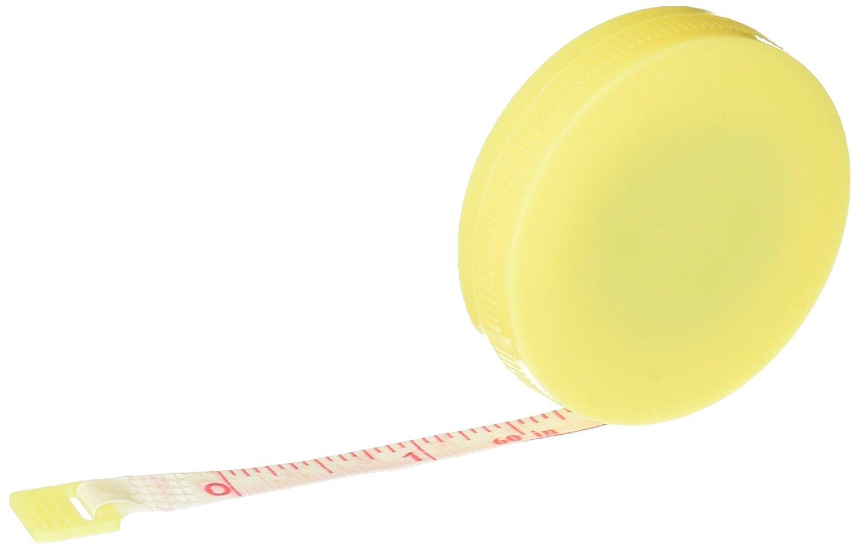 Uxcell Tailor khâu thu các thước kẻ cơ hội, 1,5 m, màu vàng.