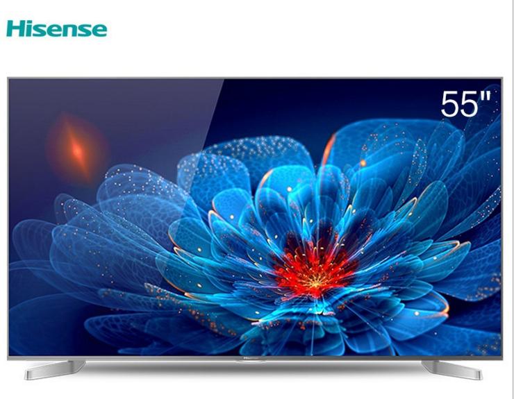 Hisense TV LED55EC550U 55 inch 4K siêu độ nét cao mạng lưới tinh thể lỏng Smart TV phẳng buôn...