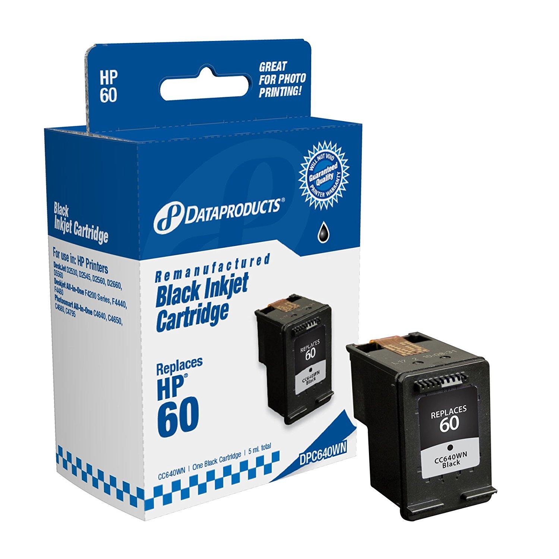 Sản phẩm tái tạo dữ liệu dpc640wn Hewlett - Packard # 60 thay thế (cc640wn) (hộp đen)