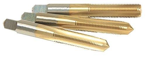 Viking Drill and Tool 46034 Type 26-UBN Straight Flute Taper, Plug, & Bottom Set, 5-40