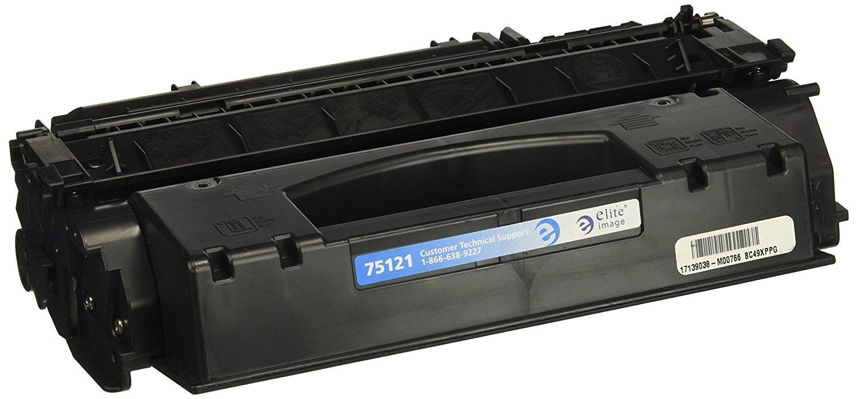 Hình ảnh tinh nhuệ eli75121 tương thích thay thế Hewlett - Packard q5949x (49x), Black.
