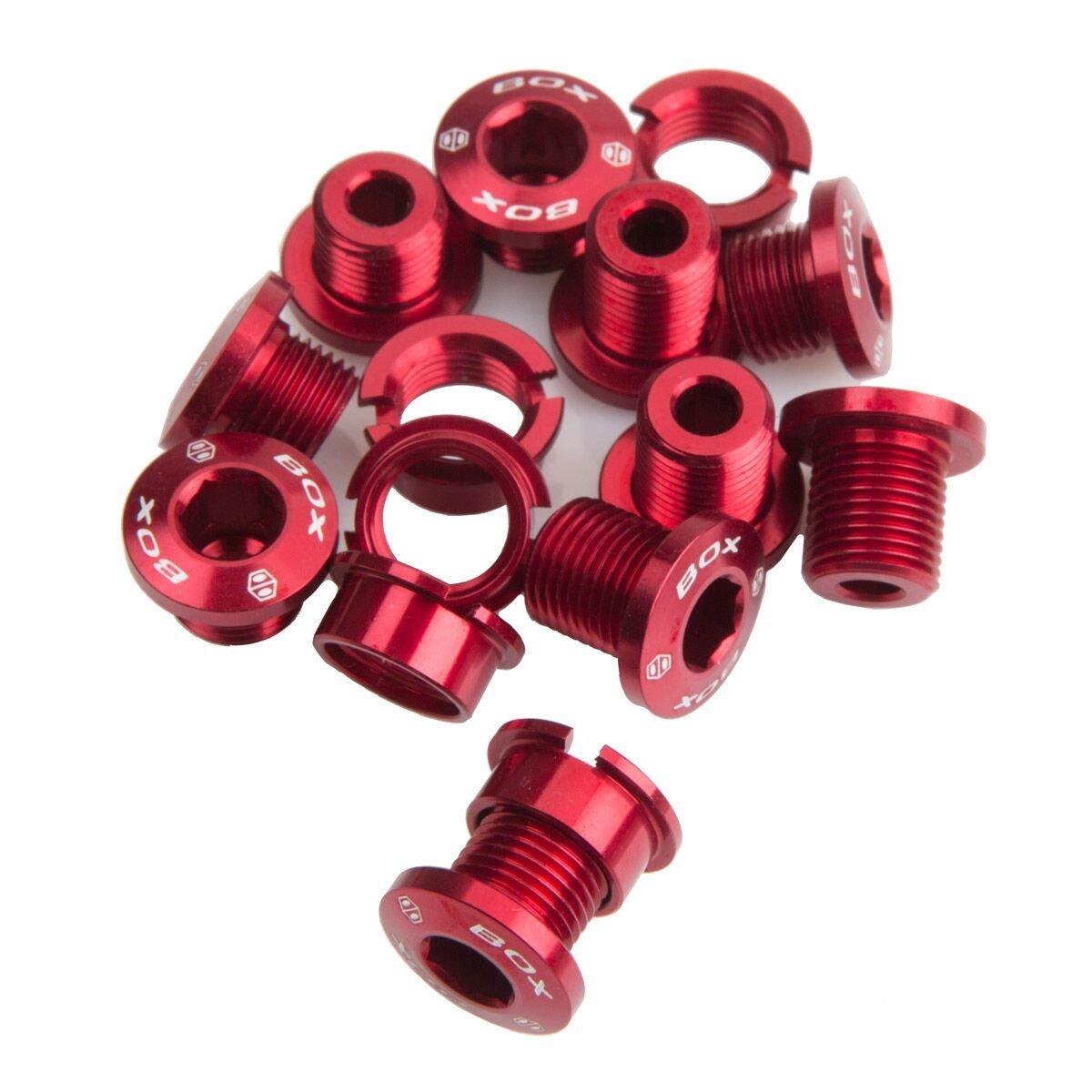BOX   Thành phần hợp kim sắt, xoắn ốc 7075 Bolt (15 màu đỏ.