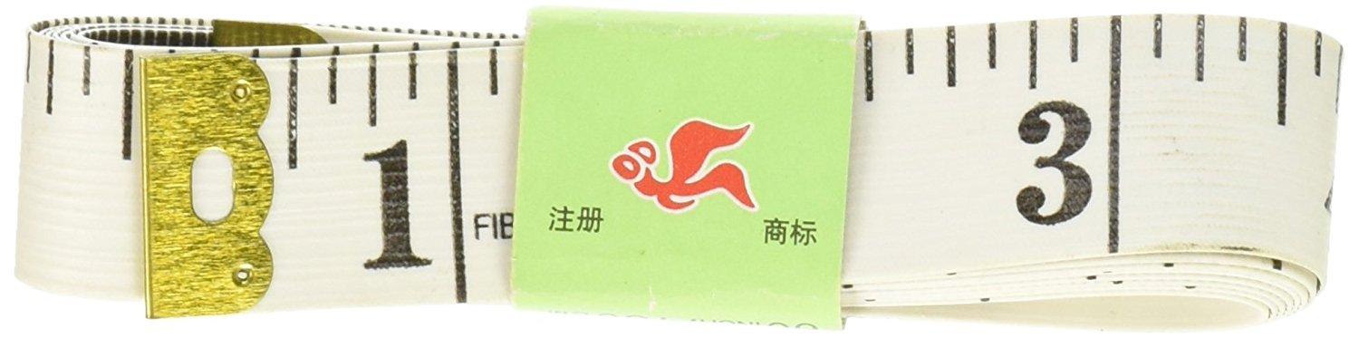 Uxcell Tailor may vá FLEX loại thước thước đo vải, 150 cm / 16 cm, màu trắng.