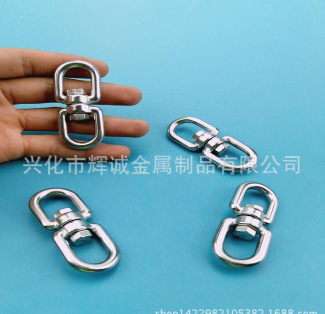 [huy lấy] 304 xoay vòng loại thép không gỉ có thiết bị tim 8 chữ nhẫn