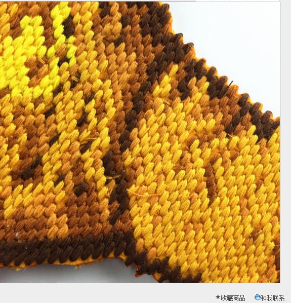 Mới tinh xảo 3D cún thêu vải dán PP bông dày của miếng vá trang phục phụ liệu nhà sản xuất hàng thêu