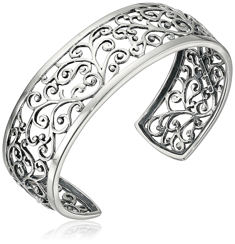 Sợi kim tuyến Collection thu thập bằng bạc và vàng bạc rắn cái còng dây xích 6.5