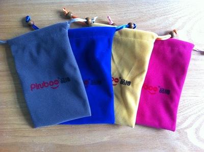 Túi vải nhung Túi điện thoại sạc túi sạc túi điện thoại di động cung cấp túi túi đồ trang sức túi tú