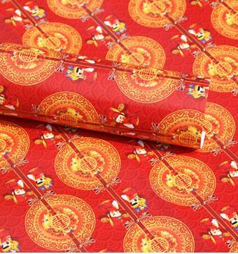 Vật có giấy gói quà Tết Nguyên đán Monogatari, 10 tấm giấy gói quà Tết giấy tờ giấy 10 năm mới do gi