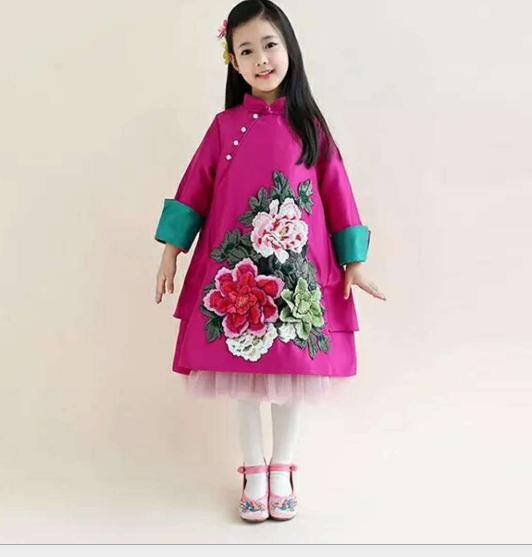 phù hiệu vải  đẹp trang phục phụ liệu vải thêu ren dán ảnh hoa mẫu đơn áo Patch hoa to