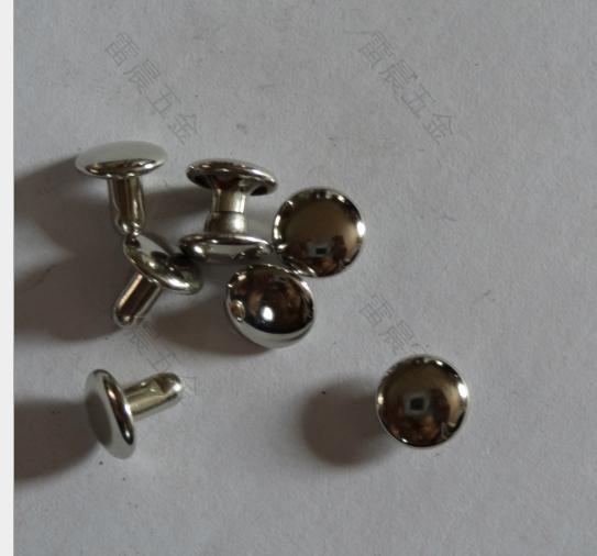 Đinh  Nhà sản xuất 8*6 tiền kim loại màu ngắn Liu đóng đinh vào trang phục Liu đơn mặt ngắn Liu đón