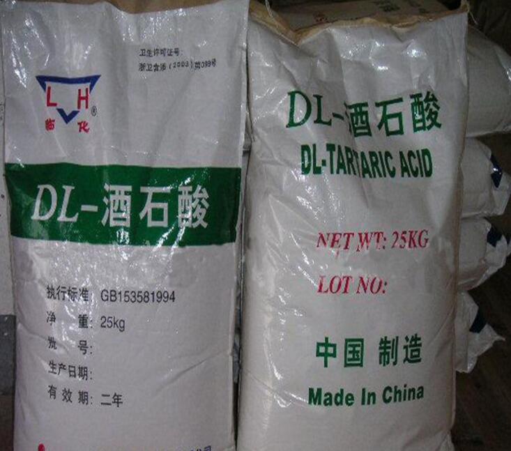 Chất phụ gia thực phẩm Các nhà sản xuất thực phẩm cấp DL- axit tartaric phụ gia thực phẩm và hóa chấ