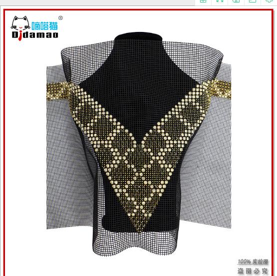 Decal ép nóng , Cườm ép nóng Váy đẹp DIY trang phục phụ liệu kính trang sức cổ áo để đánh giá, nhưng
