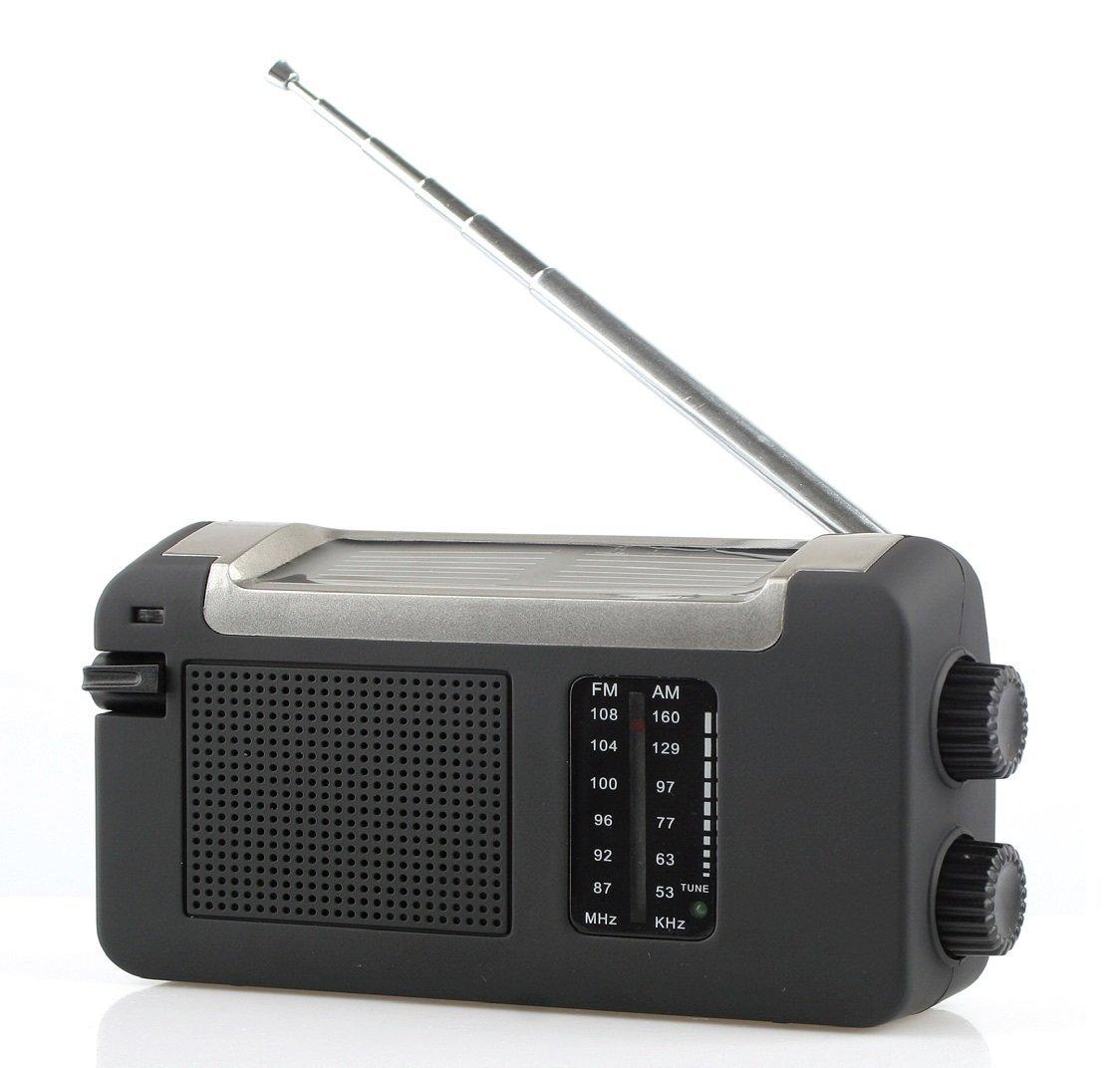 Máy phát điện Phản xạ tra505ds Portable quay - FM, radio, MW mang chức năng sạc pin năng lượng Mặt T