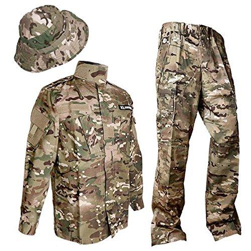 Bộ quần áo lính và nón tai bèo dùng trong học kỳ quân đội SHENKEL bdu-cm04-M