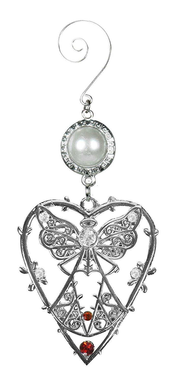 Sợi kim tuyến Thiên thần đồ trang trí hình trái tim – – Lễ hội bóng * và ngọc trang trí tuyệt đẹp nà