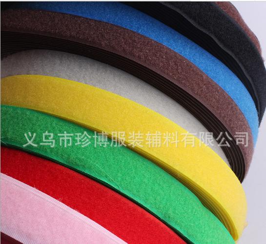 Khóa dán Nhà sản xuất bán buôn 2.5CM ảo thuật bọc nylon then cửa màu pha trộn gắn HM001-HM120 bán bu