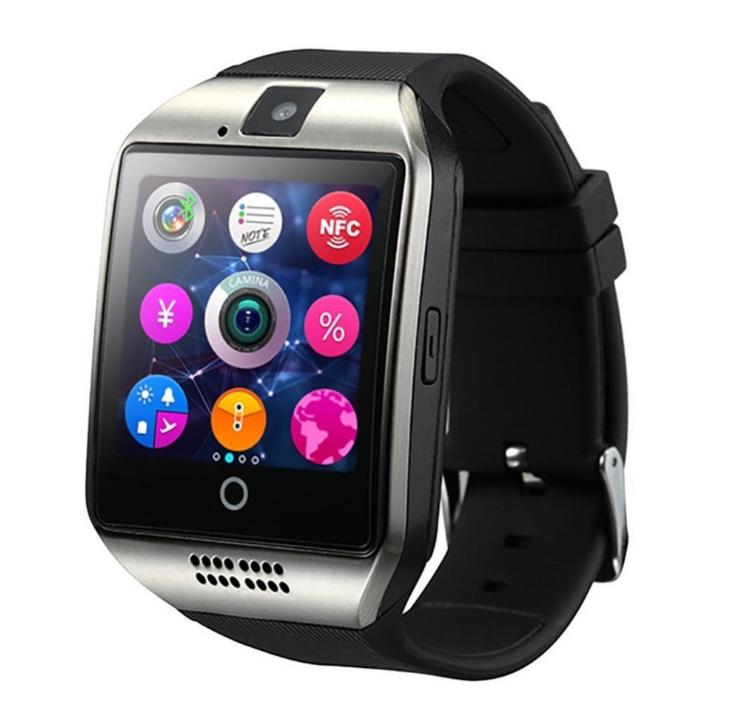 Q18 đồng hồ thông minh điện thoại thông minh xinh đẹp Bluetooth mặc áo thời trang đồng hồ đi kèm quà