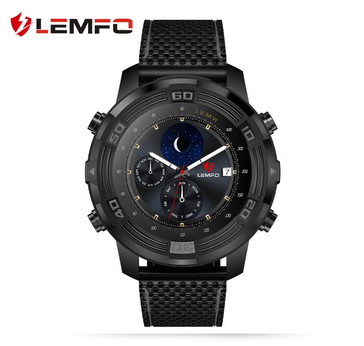 LEMFO LEM6 Android 5.1 đồng hồ thông minh 1GB+16GB IP67 chuyên nghiệp tiêu tiền không thấm nước