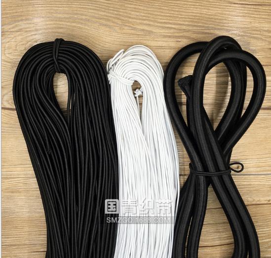 Dây thun Nhà sản xuất cung cấp 1-15mm lực đàn hồi dây gân tròn như một tấm đệm lò xo dây thun thể th
