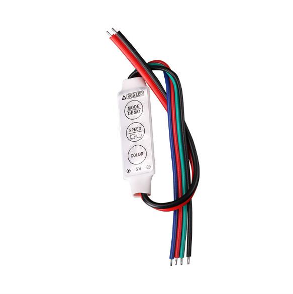 5V chỉnh ánh sáng màu LED Colorful RGB thiết bị đèn dẫn mini thông minh điều khiển máy controller đa
