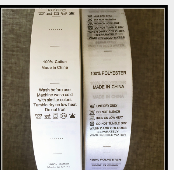 tem mạc , logo Tiêu chuẩn chung chỗ nước rửa% Ấn nhà sản xuất chuyên nghiệp tùy chỉnh quy thành phần